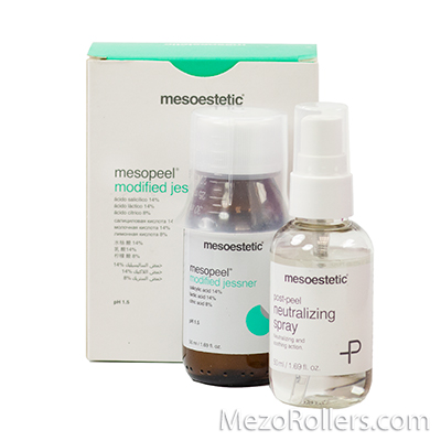 Пилинг Джесснера Mesopeel Jessner modificado + нейтрализатор, Mesoestetic, 50 мл