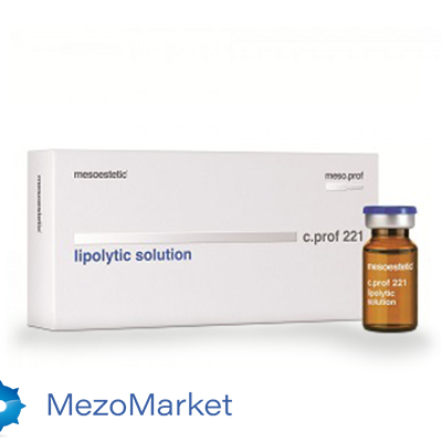 MESOESTETIC Липолитический коктейль Lipolytic solution 10 мл (1 шт)